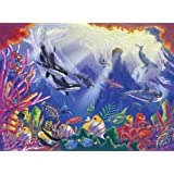 0300 pc Majestic Depths Cardboard Jigsaw