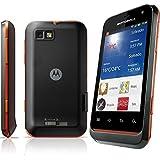 "Motorola Defy Mini - Smartphone  Android Orange libre (pantalla de 3,2"" 480 x 320, cámara 3 MP, 120 MB de capacidad, procesador de 600 MHz) Negro-Naranja"