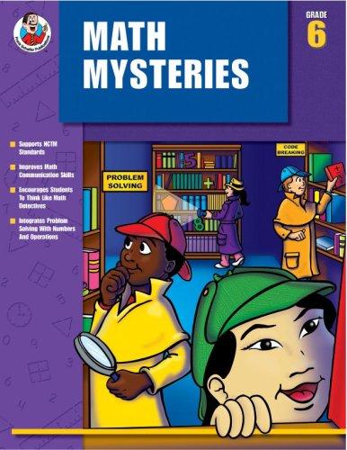 Math Mysteries, Grade 6