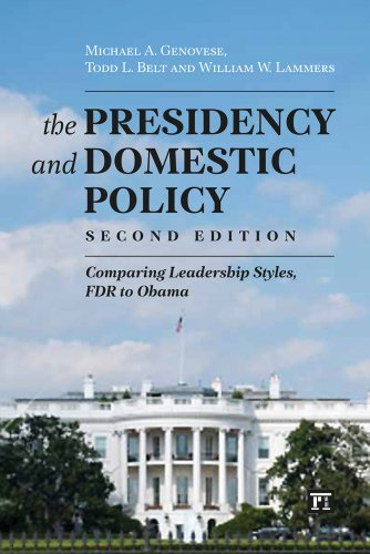 Image for publication on The Presidency and Domestic Policy: Comparing Leadership Styles, FDR to Obama