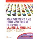 Management and Organisational Behaviour: AND MyLab Access Codeby Laurie J. Mullins