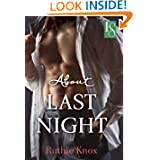 About Last Night Contemporary ebook