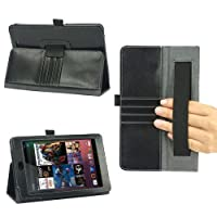 Poetic Slimbook Leather Case For The Google Nexus 7 Android Tablet By Asus (Automatically Wakes And Puts The Nexus...