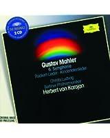 Mahler: Symphony No.6 in A minor; Rückert-Lieder; Kindertotenlieder (2 CDs)