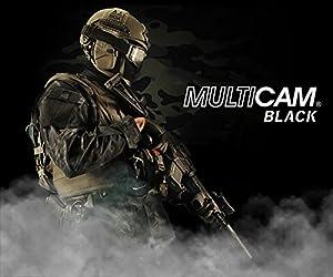 Homme Tenues de Combat Pantalon Militaire Gen3 pantalons de tactique et Genouillères MultiCam Black