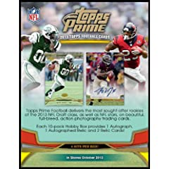 2013 Topps Prime NFL Football Collector