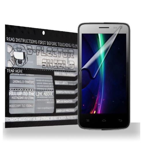 D-Flectorshield Xolo Q700 Scratch Resistant Screen Protector - Free Replacement Program front-440525