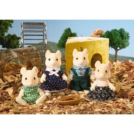Calico Critters: Hawthorne Hamster Family