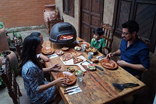 pizzaofen premium venedig von sol y yo steinbackofen aus terrakotta 52 cm unvergesslicher. Black Bedroom Furniture Sets. Home Design Ideas