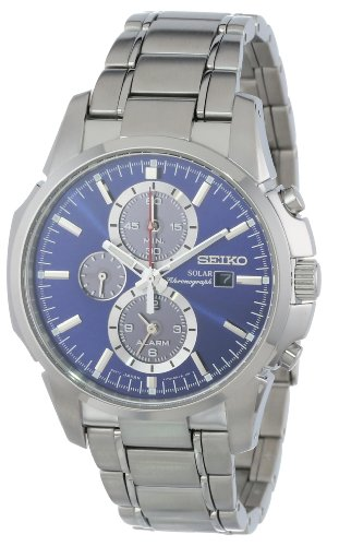 Seiko Men's SSC085 Chronograph-Solar Classic Solar Watch