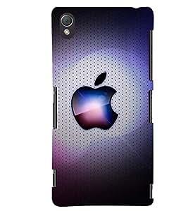printtech Apple Design Back Case Cover for Sony Xperia Z4::Sony Xperia Z4 E6553
