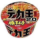 日清 デカ王 豚キムチ醤油味 152g×12個