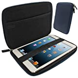 IGadgitz Blue EVA Zipper Travel Hard Case Cover Sleeve for Apple iPad Mini 1st Gen & New 2nd Gen with Retina Display (launched October 2013) Wi-Fi + Cellular LTE 16GB 32GB 64GB 128GB