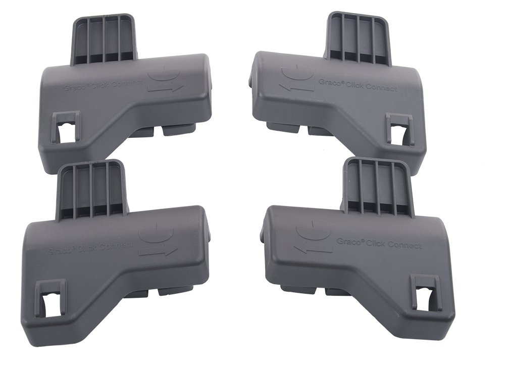 joovy twin roo car seat adapter graco snugride click connect ebay. Black Bedroom Furniture Sets. Home Design Ideas