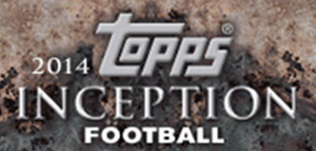 2014 Topps Inception Football Hobby Box NFL
