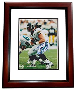 Tony Boselli Autographed Hand Signed Jacksonville Jaguars 8x10 Photo MAHOGANY CUSTOM... by Real Deal Memorabilia
