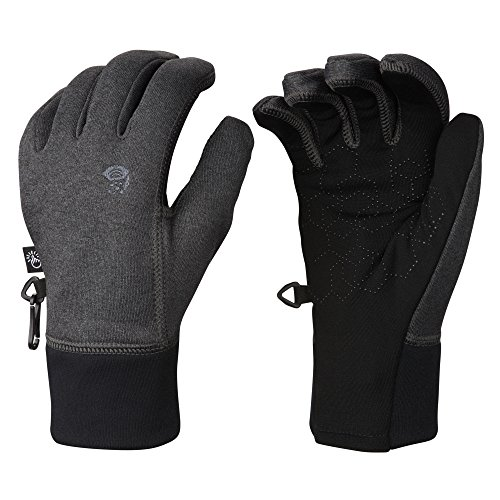 Mountain Hardwear Men's Power Stretch Stimulus Glove, Heathe
