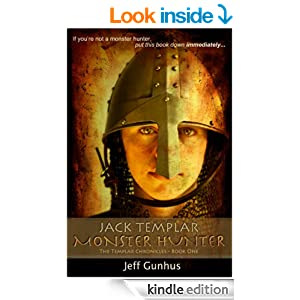 jack templar monster hunter book cover