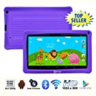 Contixo 9 Inch Quad Core Android 4.4 Kids Tablet, HD Display 1024x600, 1GB RAM, 8GB Storage, Dual Cameras, Wi-Fi, Bluetooth 4.0, Kids Place App & Google Play Store Pre-installed, 2015 May Edition, Kid-Proof Case (Purple)