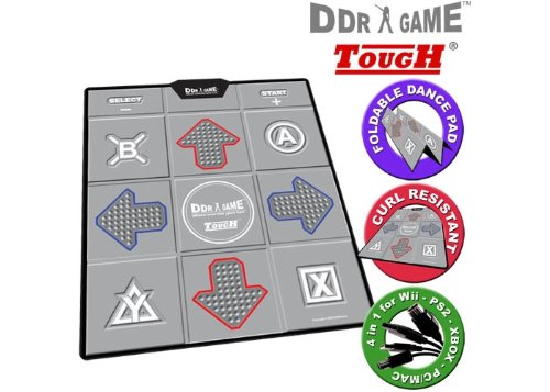 PS/PS2/Xbox/USB/GC/Wii Tough Universal Dance Pad