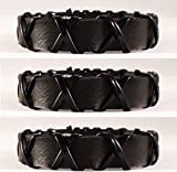 IBZ X Handband (Pack Of 3) Black