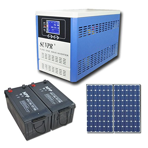 Suvpr 1000W 24V Solar Inverter With Controller System (Ups Function)