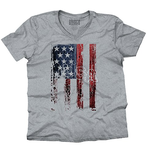 USA-T-Shirt-USA-Flag-Eagle-Patriotic-Pride-Mens-Gift-Ideas-V-Neck-T-Shirt
