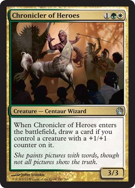 Magic: the Gathering - Chronicler of Heroes - Aedo degli Eroi - Theros