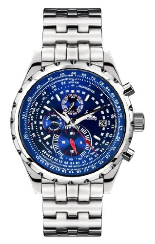 Richtenburg Montre Homme Stahlfighter bleu nocturne R10900