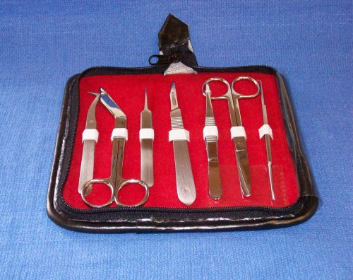 First Aid Instrument Kit - Surgical Grade Professional