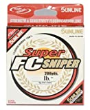 Sunline Super FC Sniper Fluorocarbon Fishing Line (Natural Clear, 7-Pounds/1200-Yards)
