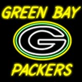 Green Bay Packers Handcrafted Neon Light Sign 19 X 15 at Amazon.com
