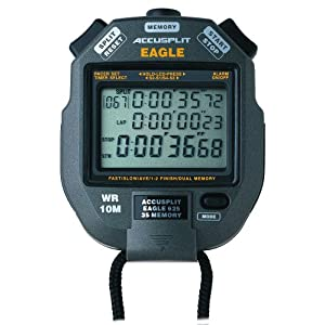 Accusplit Ax602 100 Memory Stopwatch