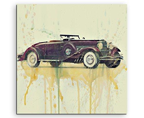 duhome-duesenberg-60-x-60-cm-cuadro-de-imagen-de-la-foto-de-la-pintura-de-la-acuarela-de-arte-lienzo