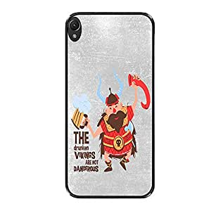 Vibhar printed case back cover for OnePlus X Vikings
