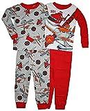 Disney Little Boys Planes Fire & Rescue 4 Pc Cotton Pajama Set