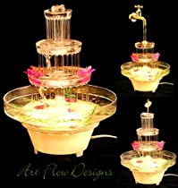 Wedding Cake Water Fountain 4T Beverage Punch Bowl