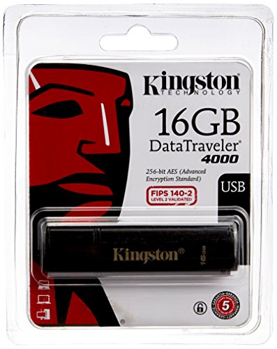 Kingston DataTraveler 4000 USB 2.0 16GB Pen Drive
