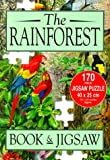 The Rainforest - Book & Jigsaw Puzzle (170 pieces - 16 x 10 inches approx.)