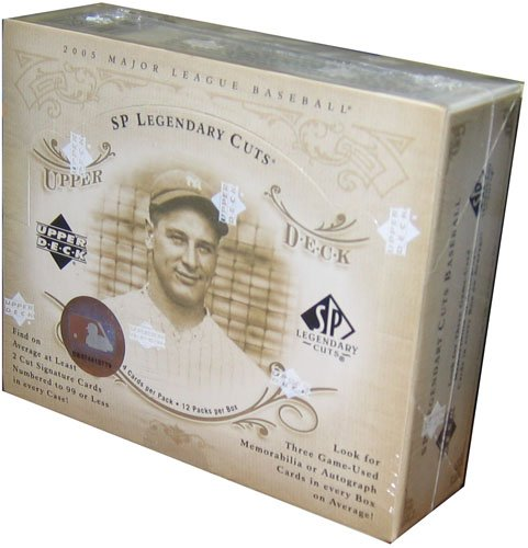 2005 Upper Deck SP Legendary Cuts Baseball HOBBY Box – 12P4C