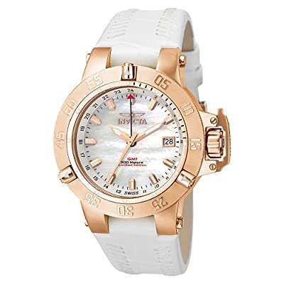 Invicta Women's F0032 Subaqua Collection Noma III GMT Rose Gold-Tone Watch