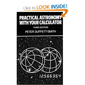 Practical Astronomy with your Calculator