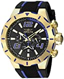 Invicta Men's 20108 S1 Rally Stainless Steel Watch with Black Band