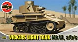 Airfix A02330 Vickers Light Tank 1:76 Scale Series 2 Plastic Model Kit by Airfix World War I Military Vehicles & Dioramas