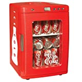 Koolatron KWC-25 Coca-Cola 28-Can-Capacity Portable Fridge with LED Display ....