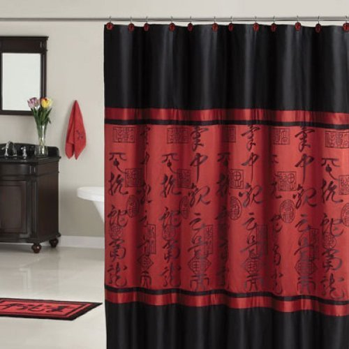 Cheap Asian Bedding Sets Red Black Asian Designed