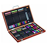 Gallery Studio - 82 Piece Deluxe Art Set in Wooden Case (Quality Mediums Guaranteed)
