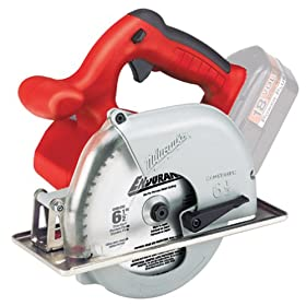 Bare-Tool Milwaukee 6320-20 18-Volt Ni-Cad 6-1/2-Inch Cordless Metal Cutting Circular Saw (Tool Only, No Battery)