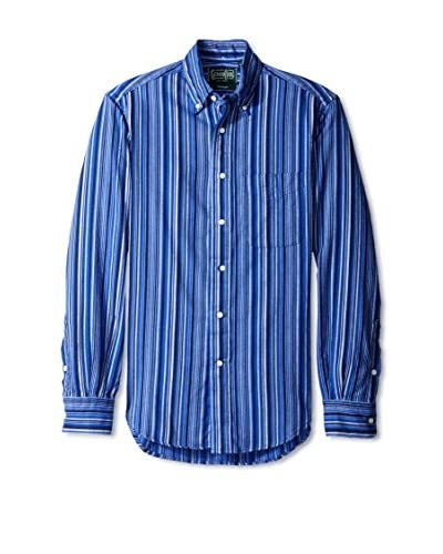 Gitman Vintage Men's Multi-Stripe Button Down Shirt