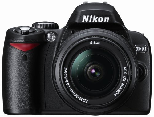 Nikon D40 (with 18-55mm Lens) is one of the Best Digital Cameras Overall Under $500